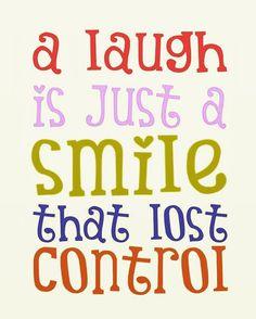 Smile & laugh
