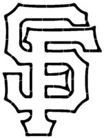 San Francisco Giants Logo Coloring Pages | Quilt patterns ...
