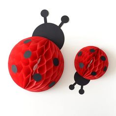 Ladybug Love Bug honeycomb kit - baby shower first birthday party decoration - wall decor First Birthday Party Decorations, First Birthday Parties, Ladybug Party Centerpieces, 2nd Birthday, Birthday Ideas, Ladybug 1st Birthdays, First Birthdays, Cumpleaños Lady Bug, Miraculous Ladybug Party