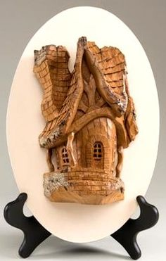 Bark Carving Whimsical Houses Sale Whimsical House