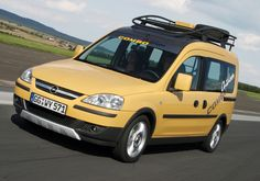 The Opel Combo Outdoor Van is a concept vehicle, it was never meant for production or our shores... but, why not?