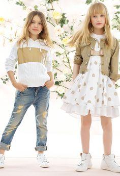 Girls Dresses For Latest Fashion Tween Fashion, Little Girl Fashion, Look Fashion, Trendy Fashion, Latest Fashion, Fashion Trends, Moda Junior, Leila, Baby Kind