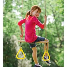 Rings Swing Outdoor Play Set | Active Child