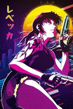 "Beautiful ""Revy"" metal poster created by . Black Lagoon Anime, Revy Black Lagoon, Manga Girl, Anime Art Girl, Anime Manga, Top Anime Characters, Female Characters, Future Wallpaper, Best Waifu"