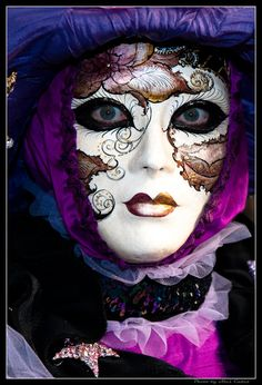 venice - mask - Masquerade - italy - great inspiration for when I get to the point of making my own masks!