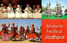 Indulge in revelry with Marwar Festival at Jodhpur.