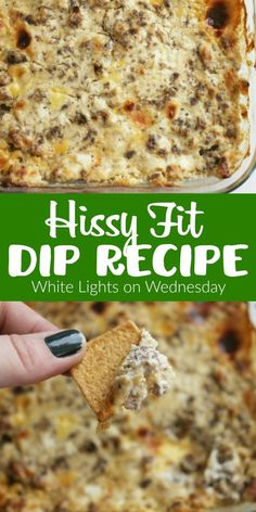 Hissy Fit Dip {White Lights on Wednesday} Appetizer Dips, Appetizer Recipes, Snack Recipes, Cooking Recipes, Crock Pot Appetizers, Chip Dip Recipes, Chip Dips, Tailgating Recipes, Tailgate Food
