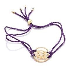 Daisy London Gold Brow Purple Cord BRCHK1006