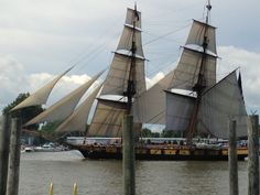 Pride of Baltimore at the Tall Ships Celebration in Bay City, MI