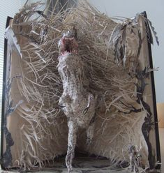 The sculpture | This beautiful paper sculpture was left in t… | Flickr