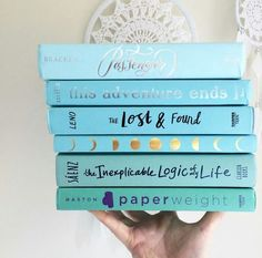 blue books by theloonytuney Book Club Books, Book Nerd, Book Lists, I Love Books, Good Books, My Books, Stack Of Books, Book Aesthetic, Books For Teens