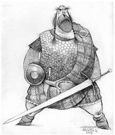 Illustration and Inspiration: Carter Goodrich - Brave Character Design
