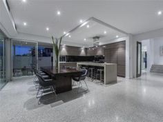 Grey dining room idea from a real Australian home - Dining Room photo 7019837