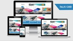 Palki Grid - Smartphone Review Blogger Template - MS Design