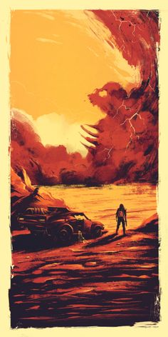 Mad Max Fury Road fan art - What a Lovely Day - Created by Marie Bergeron