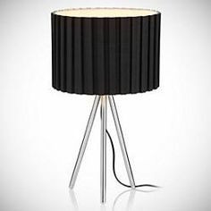 Awesome  Lamp 45  Clarice Glass Base Table Lamp 45 Ebba Wooden Table