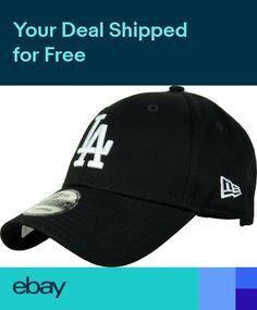 520d5e51bc4 New Era 940 League Essential LA Dodgers Black Baseball Cap