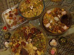 Délicieuse cuisine tunisienne assida zgougou