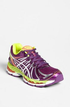 I cannot get enough of colorful running shoes
