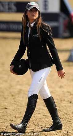 Jessica Springsteen. June 2013. --one talented young rider. I wish I could also stay this clean at a show ;)