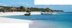 Praia de areia branca - Moçambique