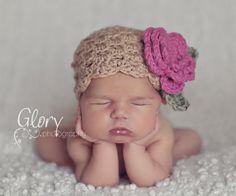 Crochet Hat Tutorial, Crochet PATTERN Hat, DIY, PDF file, Instant Download, Premie, Newborn thru Adult, Hat Pattern, Baby Girl Hat, SSp010