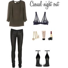 """""""Casual night out"""" by trenchcoatandcoffee on Polyvore"""