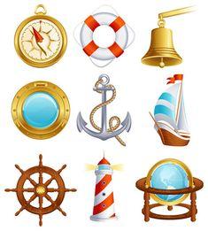Elementos relacionados con los barcos.