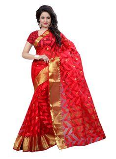 stylis-red-colour-cotton-saree-3397-800x1100.jpg (800×1100)
