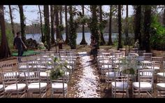 One Tree Hill Lucas and Peyton's wedding! Outdoor inspired #onetreehill #weddings
