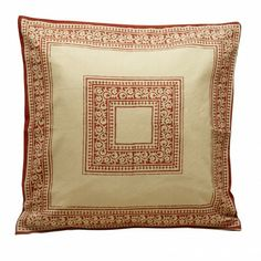 From the set of American Hustle...the Kalka Pillow | Ten Thousand Villages $29