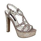 Nina Shoes, Postelle Evening Platform Sandals
