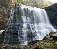 Burgess Falls near Crossville TN