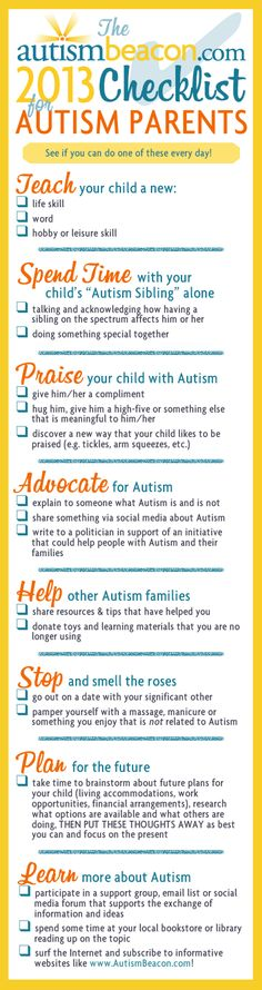 autism, parents, new years resolution checklist, child with autism--- a good perspective into what these parents have on their plates