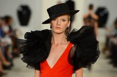 Ralph Lauren brought the bullring to his runway Thursday morning with a Spring 2013 collection that channeled the spirit of Seville. Fortunately there were no bovine animals on the catwalk