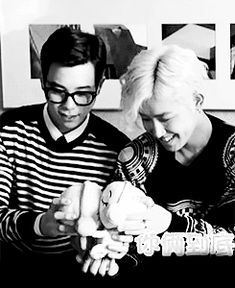 [GIF] Block B - P.O and U Kwon.... Forever young x)