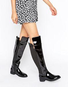 Head Over Heels | Head Over Heels By Dune Tamara Flat Over The Knee Boots