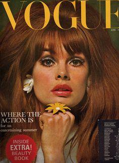 VOGUE UK - June 1965 - Jean Shrimpton, photo by David Bailey