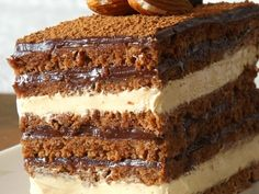 Reteta Tort Opera Eat Dessert First, Tiramisu, Sweet Tooth, Sweets, Cooking, Ethnic Recipes, Desserts, Life, Deserts
