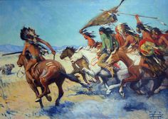 Charge of the Indians