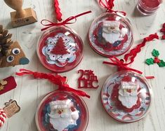 Diy Christmas Gifts For Friends, Vintage Christmas Crafts, Christmas Crafts To Make, Handmade Christmas Decorations, Holiday Ornaments, Christmas Projects, Xmas Gifts, Holiday Crafts, Christmas Balls