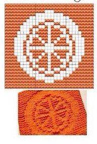 Citrus Knit Dishcloths Pattern