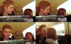 Bieber memory Jazzy and Justin singing boyfriend