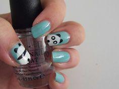 [Nail Art] panda
