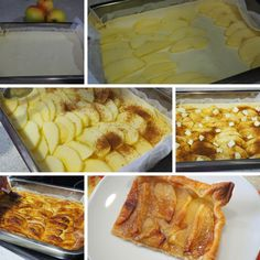 Hojaldre de manzana | Y hoy que comemos | Recetas fáciles Dessert Recipes, Desserts, Macaroni And Cheese, Ethnic Recipes, Food, Peach Jam, Mille Feuille, Phyllo Dough, Puff Pastries