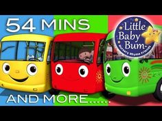 Wheels On The Bus | Plus Lots More Nursery Rhymes | 54 Minutes Compilation from LittleBabyBum! - YouTube Music