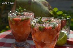 exotic-n-easy cooking: Strawberry Coconut Lemonade