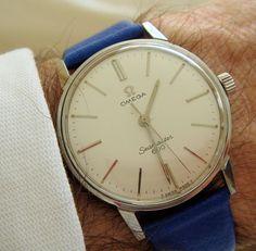 omegaforums:  Vintage Omega Seamaster 600 Dress Watch Circa 1960s