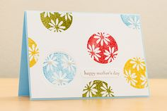 Penny Black Wishes Mother's Day Card by Silke Shimazu - Cards and Paper Crafts at Splitcoaststampers