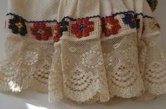 Fabulous Vintage Antique Serbian Folk Costume Shirt NN60 | eBay